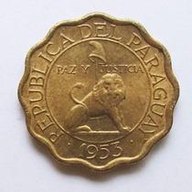 Moeda Paraguay 10 Centimos 1953