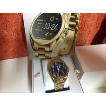 Michael Kors Mk Access Smartwatch Dourado M5001 Lancamento