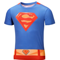Polera Dry Fit Superman