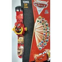 Relógio Macqueen Carros Da Disney