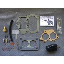 Kit Reparo Carburador Dfv Weber 446 Gasolina - Gm 4 0u 6 Cil