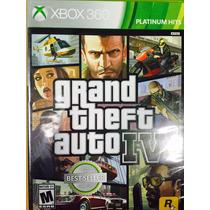 Grand Theft Auto Gta Iv 4 Cuatro Fisico Nuevo Xbox 360