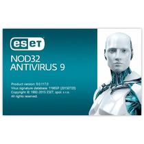 Licencia Eset Nod32 Antivirus V9, 6 Años X 5 Pcs