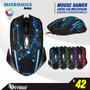 Mouse Gamer Con Luces Led 4 Colores Cambia,micronics,nuevos