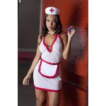 Fantasia Erótica Feminina Médica Enfermeira - Frete Grátis