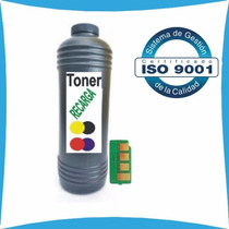 Toner + Chip Cp1025 Cp1025nw Ce310a Ce311a Ce312a Ce313a