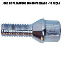 Jogo Parafusos Roda Longo - Linha Vw Fusca Brasilia Kombi