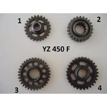 Engrenagem Motor Yz 450 Virabrequim Partida Balanceiro
