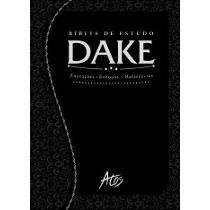 Bíblia De Estudo Dake Capa Trabalhada Dicionário Expandido