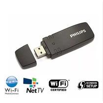 Adaptador Wireless Usb Para Smart Tv Philps (frete Grátis)
