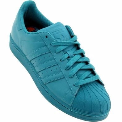 zapatillas adidas superstar verdes