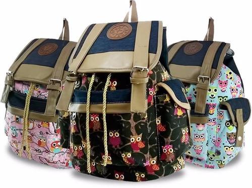 Bolsa Escolar Infantil Feminina Mercado Livre : Mochila bolsa escolar feminina lona tecido diversos
