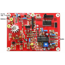 Transmissor Placa Pll Fm Stereo Saida Com 2n4427