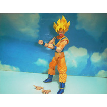 Goku Sayajim 1 Dragon Ball Z Totalmente Articulado