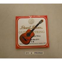 Juego De Cuerdas De Metal Pearl River Para Guitarra 211