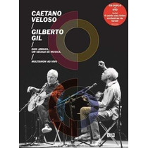 Dvd+2cds Caetano Veloso E Gilberto Gil Multishow Ao Vivo Doi