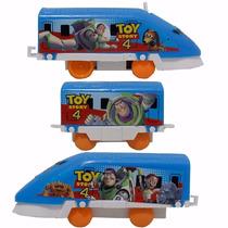 Trem Toy Story Buzz E Turma Movido A Pilha Com Linha Do Trem