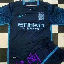 Uniformes De Futbol Manchester City Playera Y Short