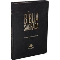 Bíblia Ultra Fina Slim Almeida Revista E Atualizada Preta