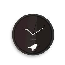 Kikkerland Reloj De Pared 8 Pulgadas Diseño Early Bird