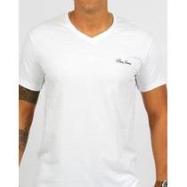 Camisa Paco Jeans, Branca Gola V
