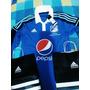 Camiseta De Millonarios Original 100% Adidas Pepsi