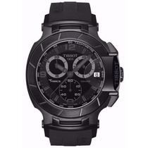 Relógio Masculino Tissot T Preto 100%funcional Vidro Safira