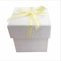 Caixa Presente De Papelão Gelo 10 Unidades Decore Casamento