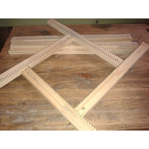 Telar Bastidor Regulable Cuadrado/rectangular 50cm X 50cm