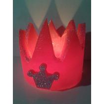 Coronitas,souvenirs Infantiles,centros De Mesa 10x10 Cm