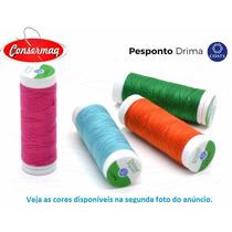 Linha Pesponto Corrente Para Costura - Caixa Com 10 Tubos