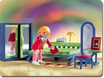 Playmobil casa moderna 3967 recamara en mercado for Casa moderna playmobil 9266