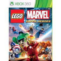 Lego Marvel Super Heroes (mídia Física) Xbox 360 (novo)