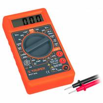 Multimetro Digital Tipo Escolar Con Bateria 9v Truper 10400