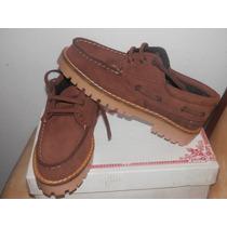 Zapatos Leñadores De Cuero Nobuk