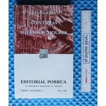 Libro Aventuras Sherlock Holmes , Conan Doyle [cuubooks]