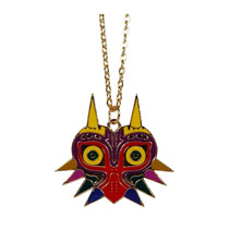 Legend Of Zelda Collar Link Majoras Mask Mascara Con Cadena