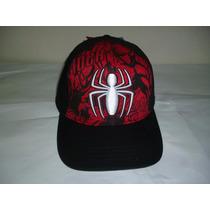 Spider Man Gorra Cerrana Original Talla M / G