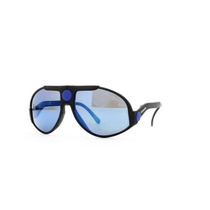 Gafas Carrera Black And Blue Authentic Men - Women Vintage