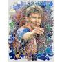 Cuadro Personajes Messi En Tela Canvas Con Bastidor 95x125