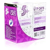 Caixa De Cabo De Rede Utp Cat5 Caixa C/ 305m - Com Nfe