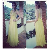 Vestido Madrinha Amarelo Lindíssimo