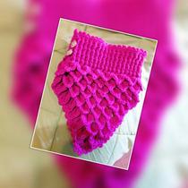 Cuello Tejido A Crochet