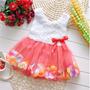 Vestido Para Bebe Infantil Importado Festa Loja Da Fefinha