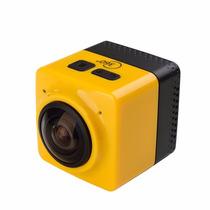 Filmadora Câmera 360° Graus Mini Cubo - Ação E Esportes