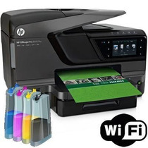 Multifuncional Hp Officejet Pro 8600 Com Bulk Ink E Wi-fi