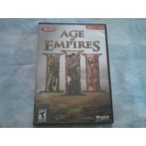 Juego Age Of Empires 3 Solo Discos 2 Y 3