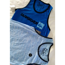 Playeras Surf Quicksilver Hurley Vanz