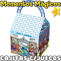 10 Cajita Monsters University Valijita Golosinera + 7 Juegos