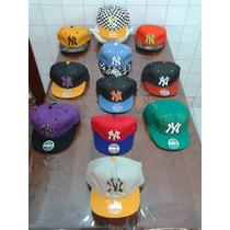 Gorras Viseras Planas New York Yankees Ny - Varios Modelos